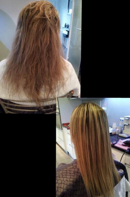 cheveux mousseux très fin et sensibilié