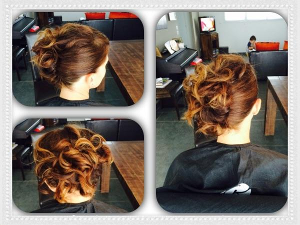 Chignon causal chic